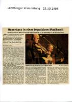 2008 Leonberger Kreiszeitung