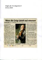 2009 Allgäuer Anzeigenblatt